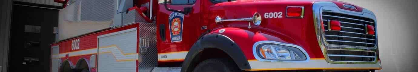 Régie incendie Windsor