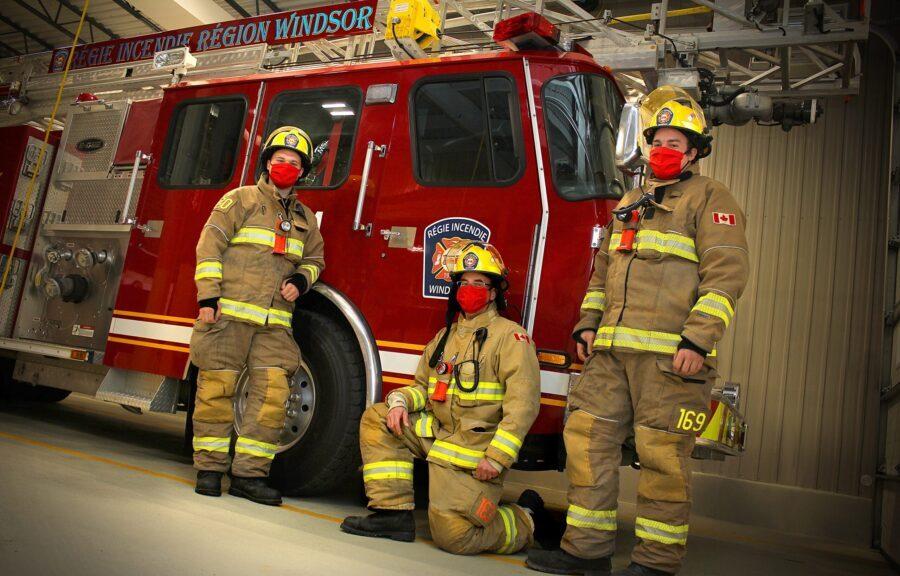 Pompiers en temps de Covid